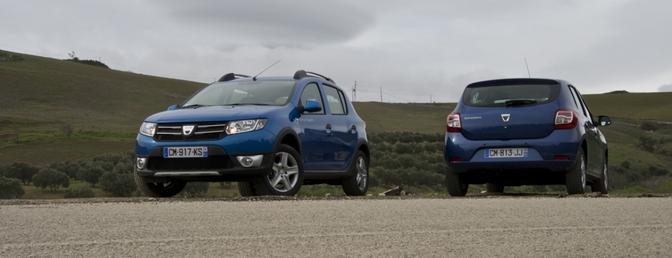 rijtest Dacia Logan, Sandero en Sandero Stepway