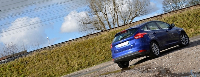 Rijtest: Ford Focus 1.0 EcoBoost (2015)