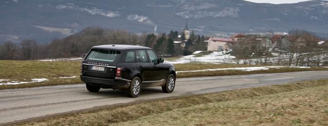 Range Rover rijtest 2013