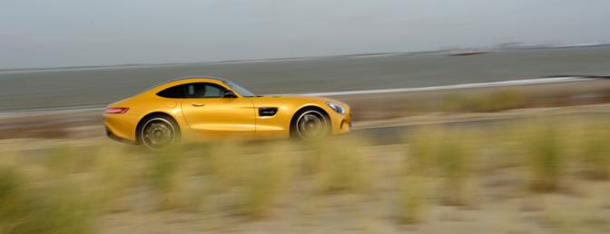 Mercedes AMG GT rijtest