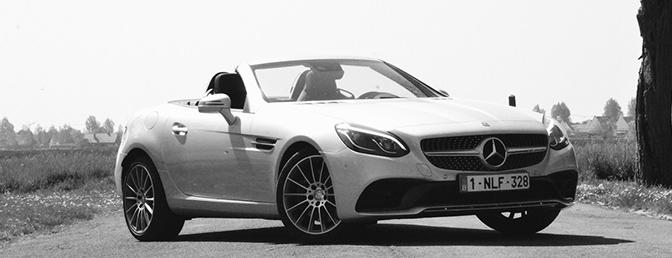 Rijtest: Mercedes SLC 200