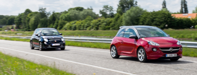 duotest-opel-adam-s-vs-abarth-595-competizione