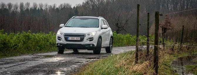 Rijtest: Peugeot 4008 1.8 HDi