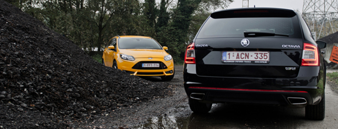 skoda-octavia-rs-vs-ford-focus-st-rijtest
