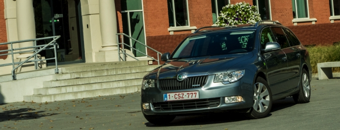 Rijtest Skoda Superb 1.6d greenline