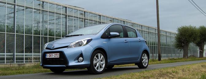 Toyota Yaris Hybrid (rijtest)