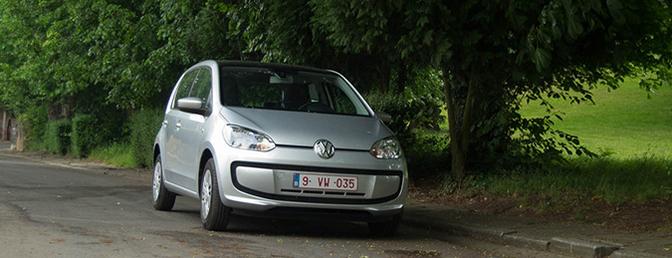 Rijtest: Volkswagen EcoUp (CNG)